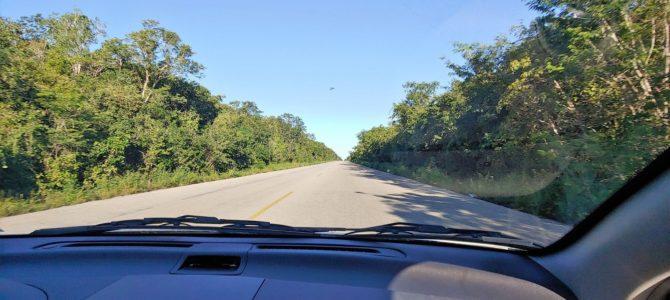 Mexique – Yucatan – Jour 9 – les routes