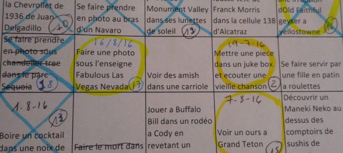 Le Bingo de l'Amérique de l'Ouest – Suite et Fin