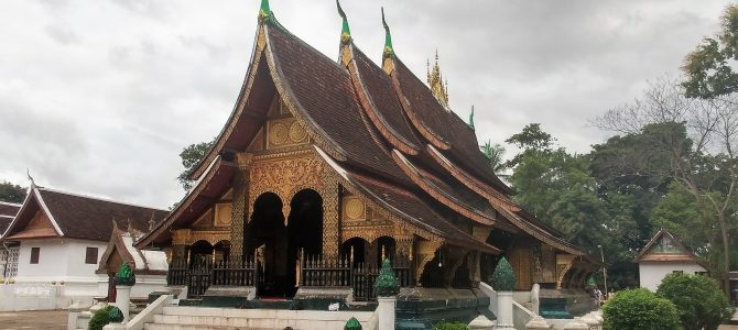 Laos – Jour 16 – les temples de Luang Pabrang