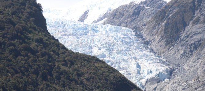 Nouvelle Zélande – île du Sud – les glaciers